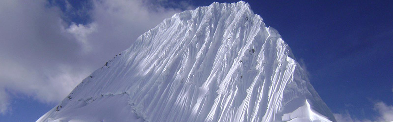 Alpamayo Climbing Peru 5,947m Cordillera Blanca Expeditions